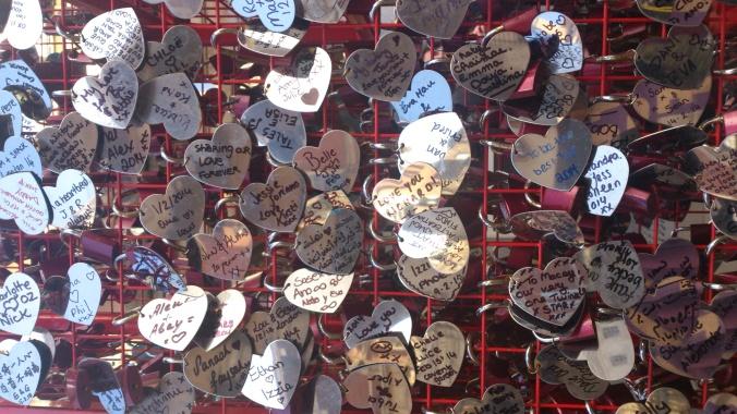 Candados del Amor en Covent Garden